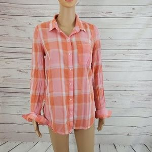 Old Navy Blouse Button Down Shirt Size M